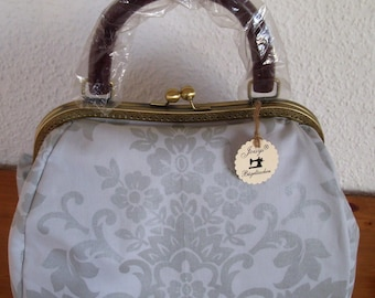 Joisys® midwife bag with bar fine silver & grey
