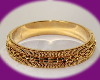 Vintage Gold Tone Bracelet Vintage Bracelet Vintage Jewelry Wedding Bracelet