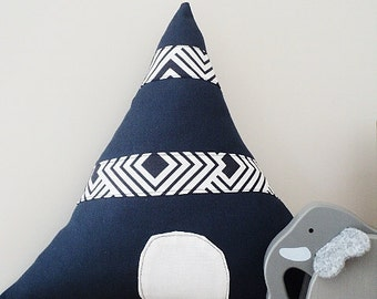 Tepee Children cushion, children pillow, children decor ON SALE