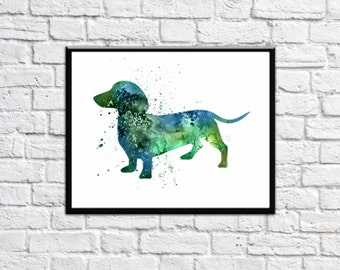 "Shop ""dachshund gift"" in Art & Collectibles"