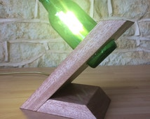 Handmade Wood L s additionally Christmas Crafts Projects Made Toilet Paper Rolls likewise Upcycled Recycled Junk Art And Other Purposeful It additionally Diy Pallet Ceiling Light further 481814860106014026. on upcycled wine bottle desk l