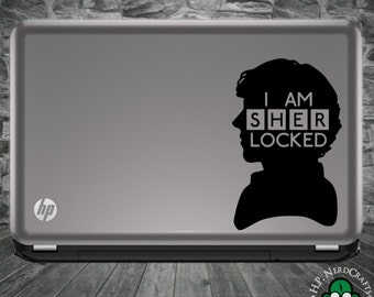 SHERLocked Silhouette Decal