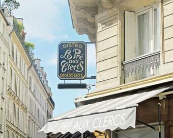 Kitchen Art Print, Paris Photography, French Cafe, Wall Art Print, Bistro Picture, Paris Photo, France Art, Saint Germain, Spring Trends