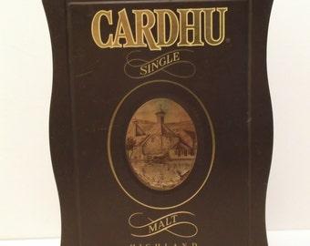 Cardhu Single Malt HIGHLAND SCOTCH WHISKEY Collectible Tin