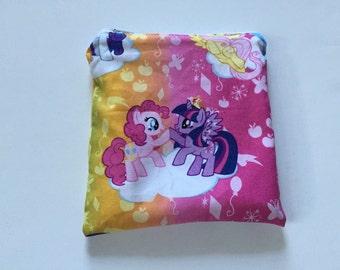 My Little Pony Reusable snack bag, sandwich bag etc...