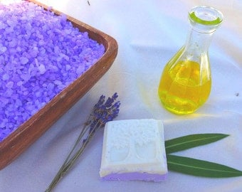 Lavender Sole Guest Soap