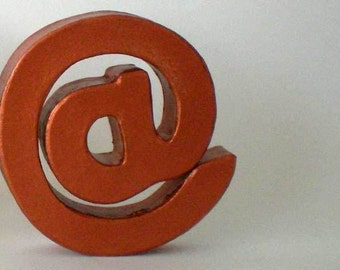 Recognition for geeks, nerds, bloggers - @-Symbol / AT-symbol