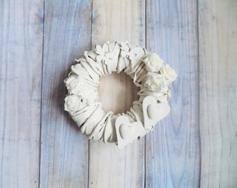 Beautiful handmade door wreath