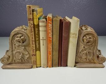 Vintage Religious Book Lot of 8 Religious Books Religious Book Decor Vintage Bible Vintage Book Decorating