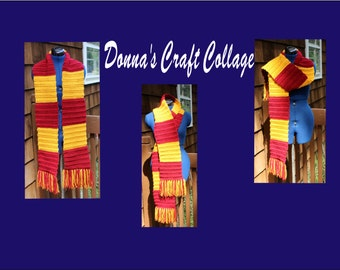 Wizard House Scarf