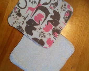 10 cotton wipes 16 x 16 cm
