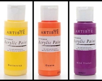 DoCraft Artiste acrylic paint 2oz