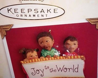Hallmark Keepsake African American Joyful Trio Christmas Ornament