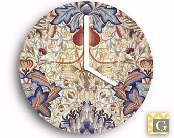 Wall Clock by GABBYClocks -  Antique Wallpaper
