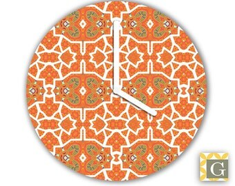 Wall Clock by GABBYClocks -  Mandarin No. 3