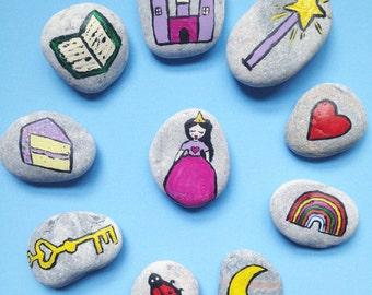 Story Stones - fairytale princess