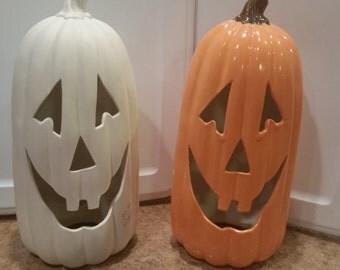 DIY Tall Pumpkin