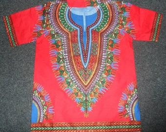 SALE* African Wax Dashiki Tunic for Kids