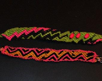 Lot of two Brazilians, friendship bracelet bracelets