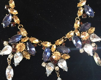 Vintage Swaroski crystal necklace