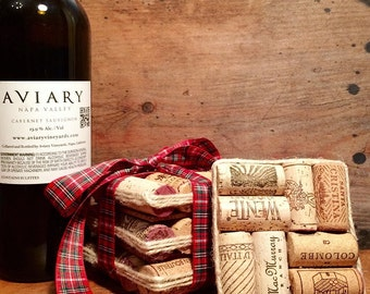 Wine Cork Coasters (Set of 4)