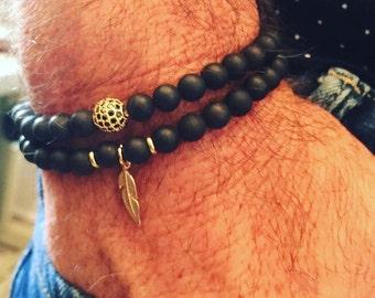 Men's Bracelet, Layering Bracelet, Stack bracelet, Mens Jewelry, Men's Jewelry, Gift for Him, men's gifts, bracelet for men