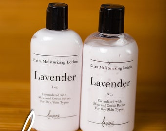 Lavender Lotion, Body Lotion, Hand Lotion, Aloe Vera Lotion, Natural Lotion, Essential Oil Lotion, Homemade Lotion, Relaxing Lotion