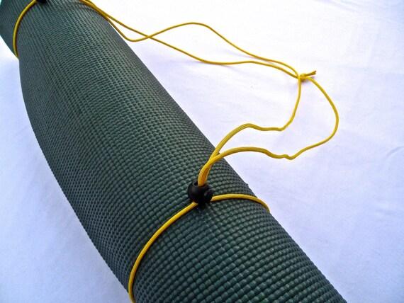3N1 Yoga Mat Strap, FREE SHIPPING On All U.S. Orders- Sunrise Yellow- Yoga Mat Sling, Yoga Mat Carrier, Yoga Mat Holder, Yoga Mat Tote