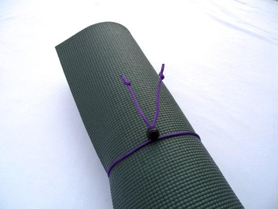 Mini Yoga Mat Tie- Purple Mtn Majesty- FREE SHIPPING on All U.S. Orders, Yoga Mat Holder, Yoga Mat Carrier, Yoga Mat Strap, Yoga Accessories