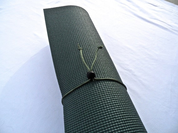 Mini Yoga Mat Tie- Sage Brush Green- FREE SHIPPING on All U.S. Orders, Yoga Mat Holder, Yoga Mat Carrier, Yoga Mat Strap, Yoga Accessories