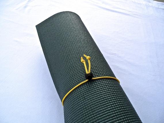 Mini Yoga Mat Tie- Sunrise Yellow- FREE SHIPPING on All U.S. Orders, Yoga Mat Holder, Yoga Mat Carrier, Yoga Mat Strap, Yoga Accessories