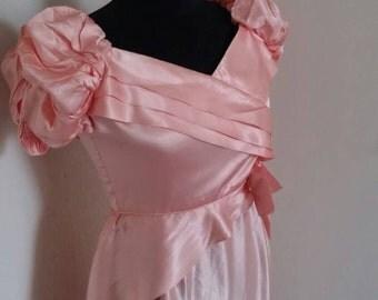 Romantic vintage promdress bridesmaids dress