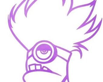 Purple Minion Stencil