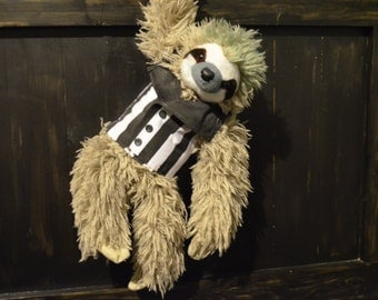 Beetlejuice Sloth Stuffed Animal