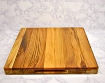 Teak Wood Cutting Board or chopping Block- Wedding, Anniversary or Engagement Gift - Wood Anniversary Gift- House Warming Gift