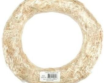 """12"""" Straw Wreath Form"""