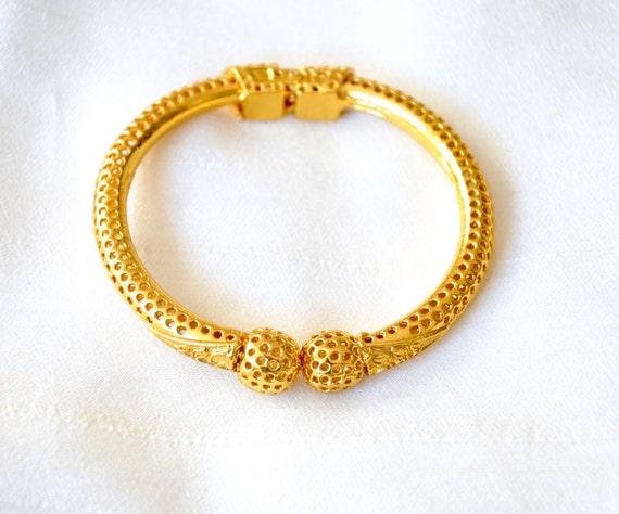 Simple kada or bangle | Indian Jewelry | Temple Jewelry