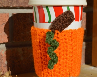 Pumpkin Coffee Cozy