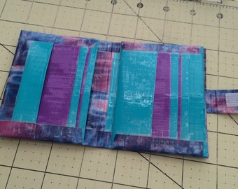 Duct tape booklet wallet