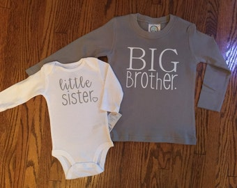 Big Brother Little Sister sibling set