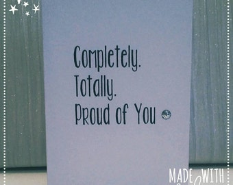 Card, Greetings Card, Proud Card, Just Because, Encouragement, Well Done