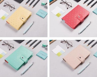 Personal mint blue planner