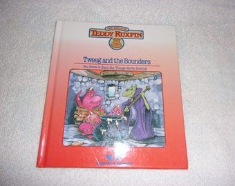 World of Wonder Teddy Ruxpin Book