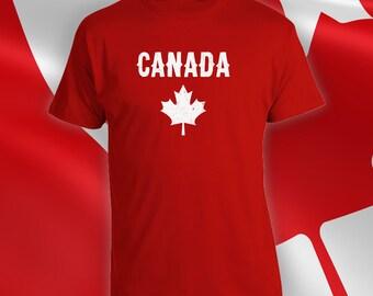 Canada Day T-shirt, mens womens t-shirt, canada day t-shirt, mens canada day shirt, womens canada day shirt, canadian apparel - CT-065