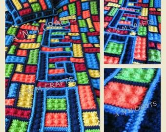 LEGO Inspired Blanket