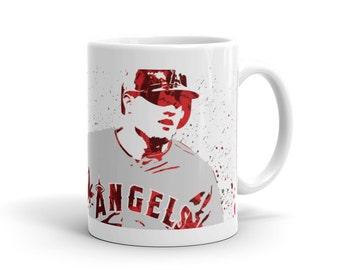Mike Trout Los Angeles Angels of Anahiem Mug