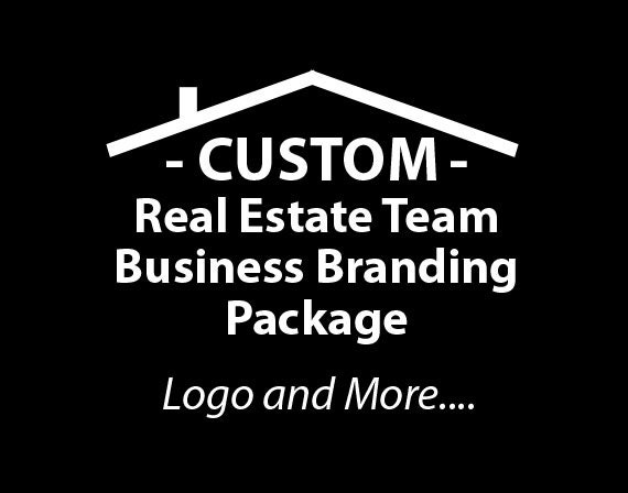 Real Estate Team Business Branding Package, Realtor Logo, E-mail signatures, Business Card Designs, Website Banner, Logo Initials