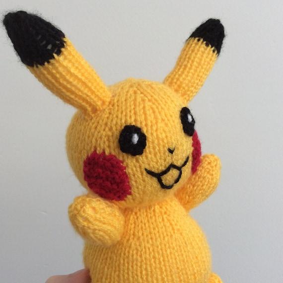 pikachu knitting pattern pokemon doll amigurumi pattern ...