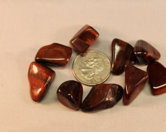Tumbled Stone Red Tiger Eye T16