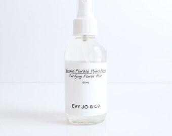 Moisturizing Floral Mist - Facial Mist, Face Mist, Facial Toner, Face Toner, Natural Skincare, Vegan Skincare, Dry Skincare, Beauty Products